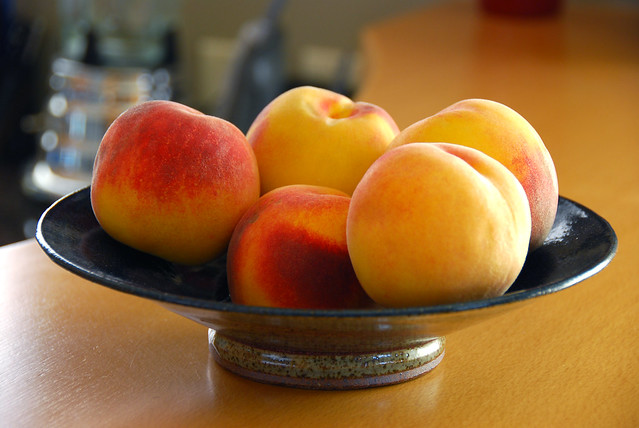Perfect Ripe Beautiful Peaches | Flickr - Photo Sharing!
