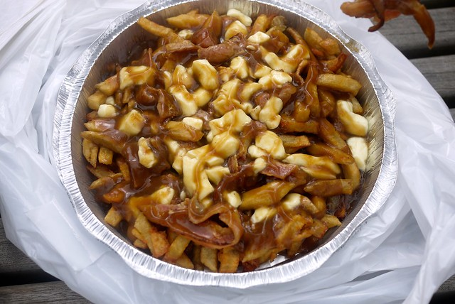 Bacon Poutine   Frenchies Diner