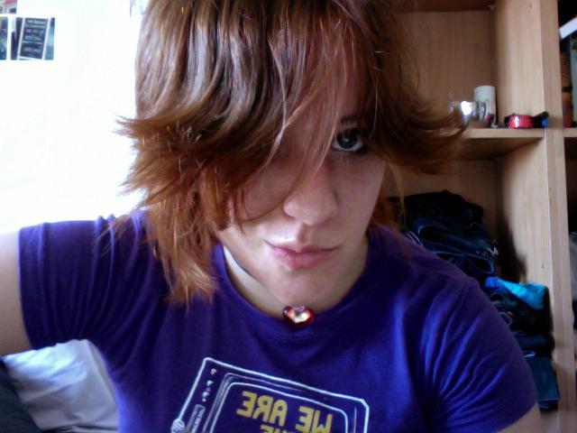 Hair Dye Horizontal Stripes
