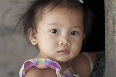 Filipina babies in the squatter areas