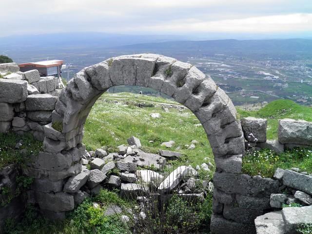 Upper Acropolis, Pergamon, Turkey