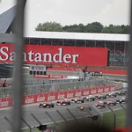 Start of the British Grand Prix 2011