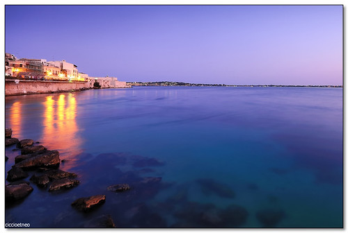 Ortygia - Twilight reflections