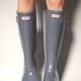Hunter Graphite Boots