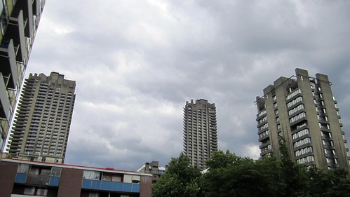 Barbican From Golden Lane Estate