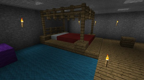 Minecraft bedroom designs modern building design for Bedroom ideas on minecraft