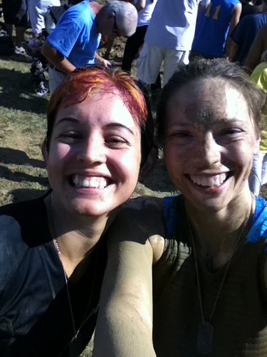 Pinkie & Moi 2011 Merrell Down & Dirty Mud Run