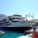 The ferry to Loutro on the Greek island of Crete