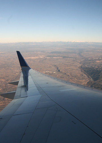Banking over Central Spain 2