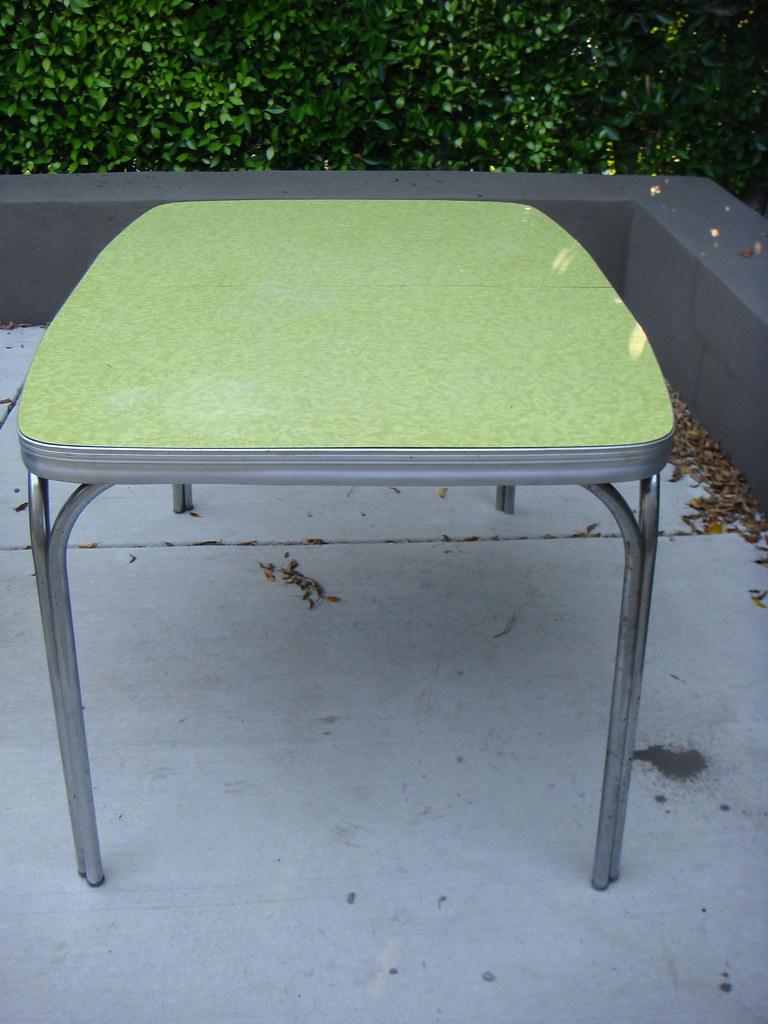 Chrome kitchen tables chrome kitchen antique tables - Vintage chrome kitchen table ...