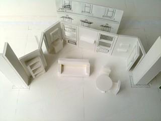 Scale Model Set Desing by Shop Studios