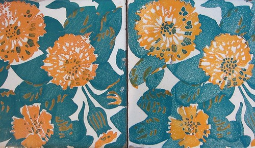 lovely marigold tiles