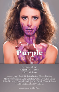 Purple: Group Show
