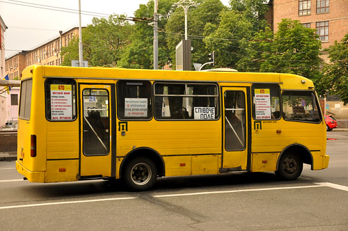 Ukrainian marshrutka bus. By Anosmia, on Flickr