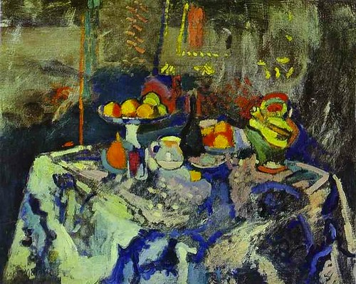 Henri Matisse - Still Life with Vase, Bottle and Fruit
