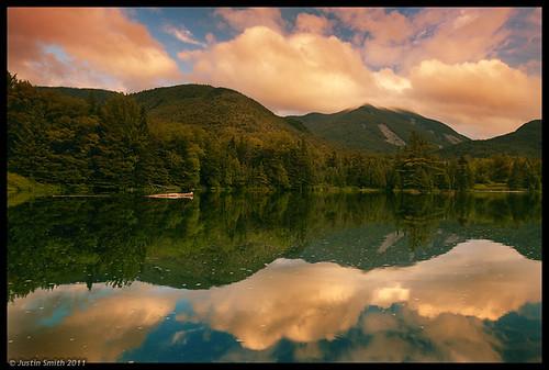 sunset ny newyork mountains reflection water adirondacks nikond50 justinsmith mountmarcy leefilters nikon1735mmf28 justinsmithphotocom