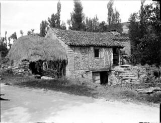 Maison en pans de bois, Arnac, 2 juin 1906