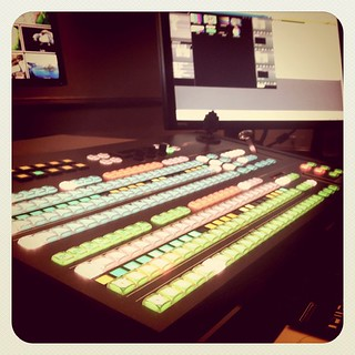 The new Carbonite switcher by Ross Video