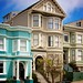 Studebaker Cruiser 1964 and San Francisco Edwardian houses by tony.mignot