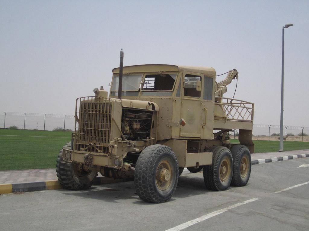 Scammell Explorer - Sharjah Old Car Museum