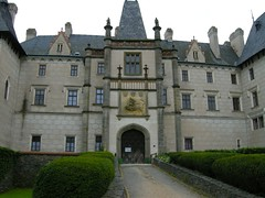 abbey, building, monastery, palace, property, estate, mansion, facade,
