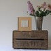 Rustic Wooden Apple Crates Wedding Decorations