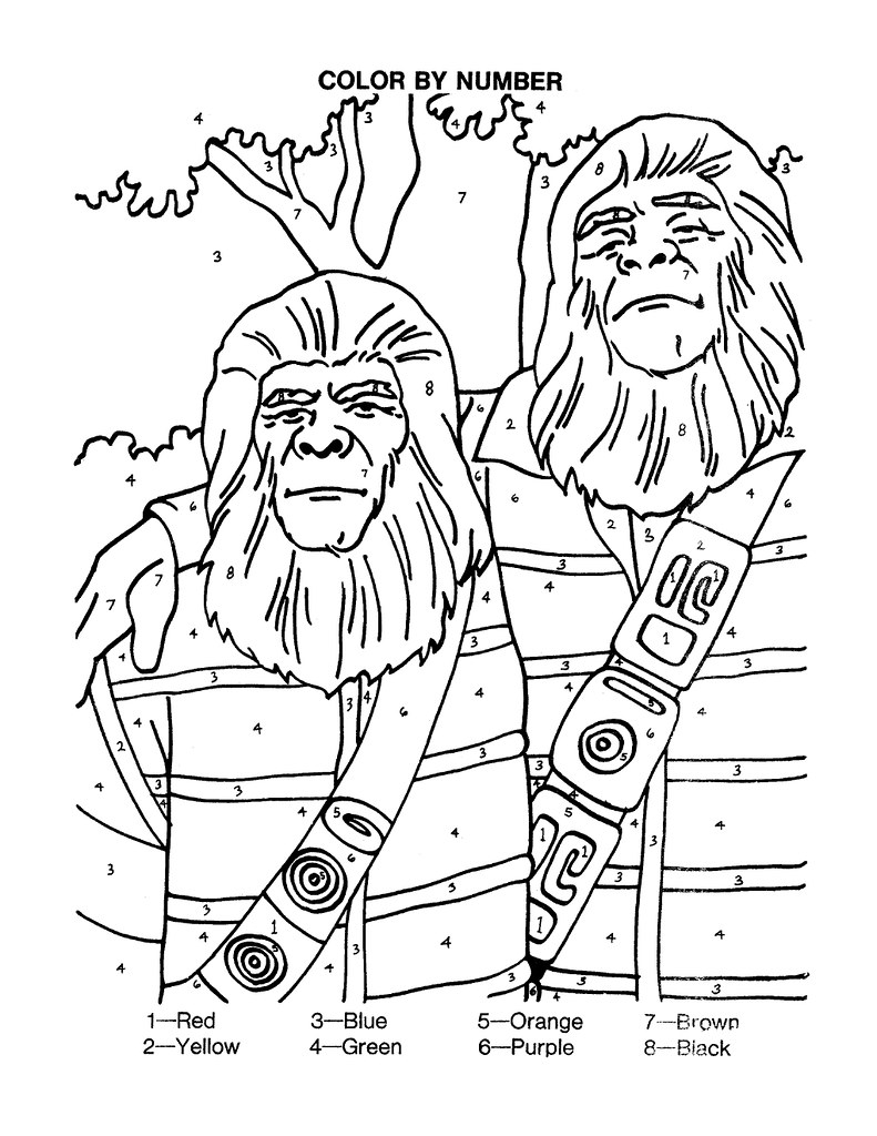 Planet of the Apes Activity Book 0200021