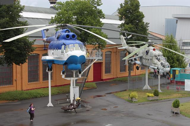 Mil Mi-14 und Mi-24