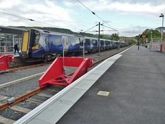Class 380 EMU's, at Largs. by beejay1946