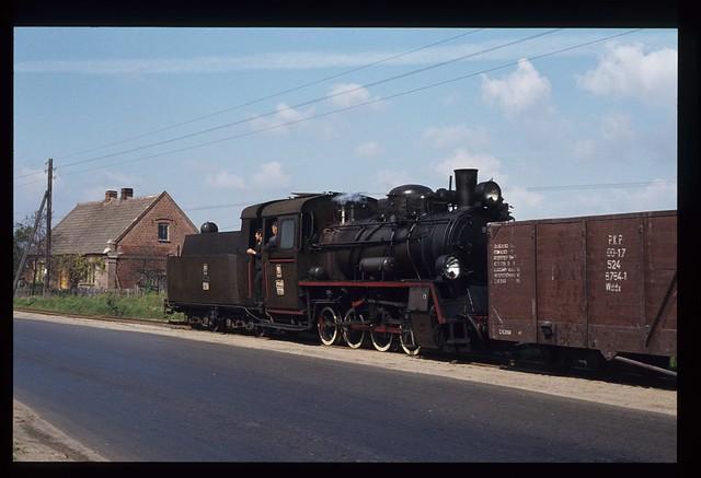 75. Px48 1739 auf dem Schmalspur Eisenbahnnetz Koło-Kutno. PKP.