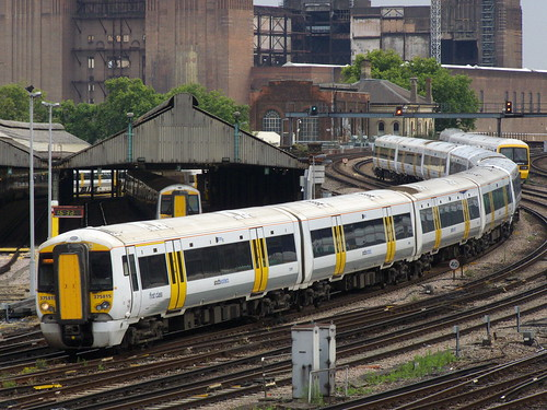 Class 375 near London Victoria