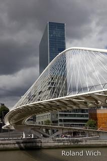 Bilbao - Calatrava Zubizuri Bridge