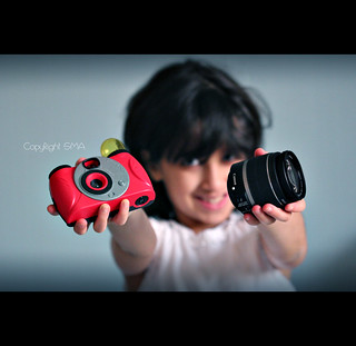 New Red Camera For Kids Only=P