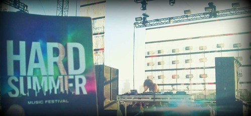 Dj Gaslamp Killer at Hard Summer 2011 #music @HardFest