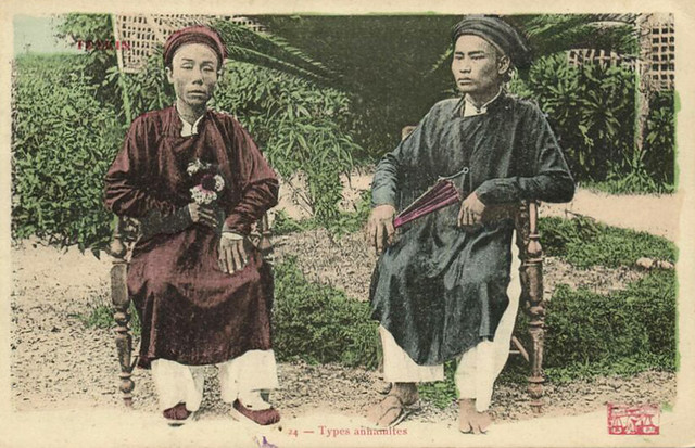 Indochina, ANNAM, Native Types (1913)