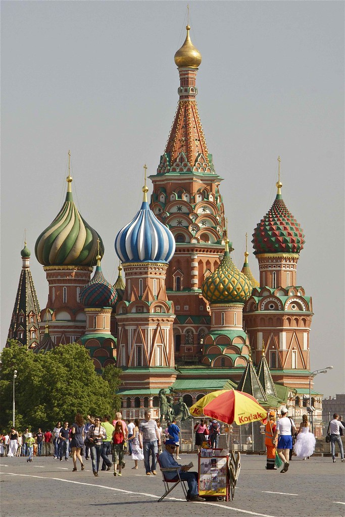 kathedraal moskou rode plein