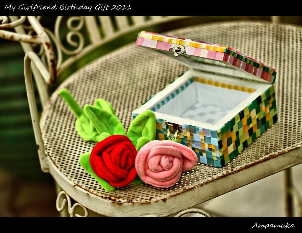 My Girlfriend Birthday Gift 2011 Mosaic Box