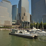 SAILING THE HUDSON RIVER     -    World Financial Center,  Manhattan NYC  -    08/12/11