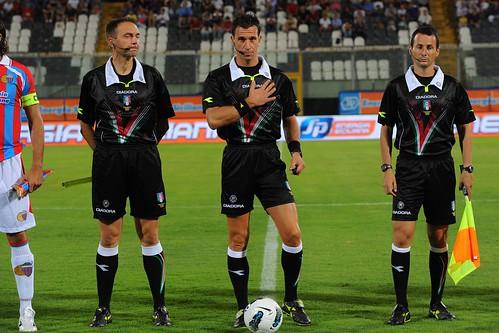 Calcio, Serie A: le designazioni arbitrali della terza giornata$