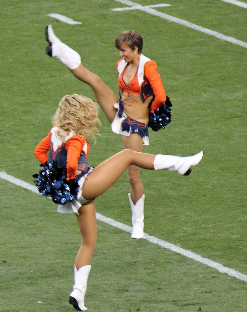 Girls Legs Etc Denver Broncos Cheerleaders These Broad Flickr