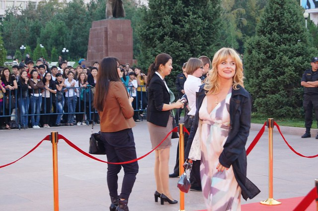 Nastassja Kinski walks the red carpet at Eurasia Film Festival 2011