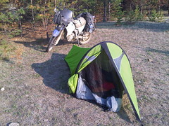 Camping near Alla in East Baikal (Barguzin National Park)