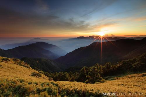 sunset night canon nightshot taiwan 南投 台灣 日落 中橫 nantou 合歡 台14甲 1635mmlii 5dmarkii