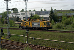 Oberleitungswagen der Bahn