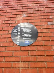 Photo of Chalkie Davies and Carol Starr black plaque