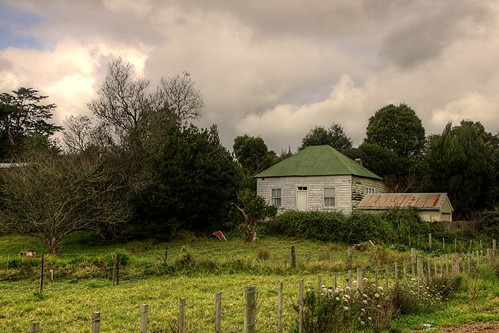 An old home a few kilometers south of suburban Wha...