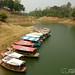 Boats on Kaptai Lake - Rangamati, Bangladesh