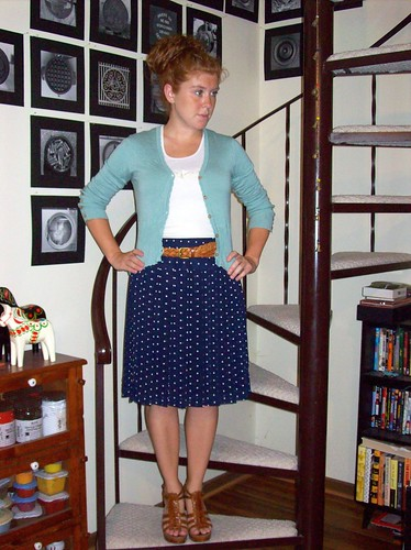 7-13-11 Dots and pleats