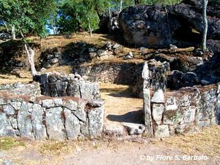 Kuva  Citânia de Briteiros lähellä  Póvoa de Lanhoso. portugal são siti portogallo guimarães età ferro preistorico preistoria romão briteiros citânia