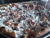 Tortufata (black truffle) pizza from Toby's Public House (Parkslope, Brooklyn). SO GOOD